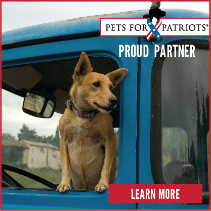 Operation Pets Alive is a proud adoption partner of Pets for Patriots.