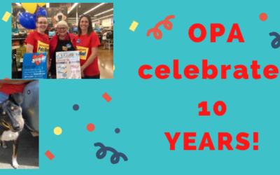 OPA Celebrates 10 Years!