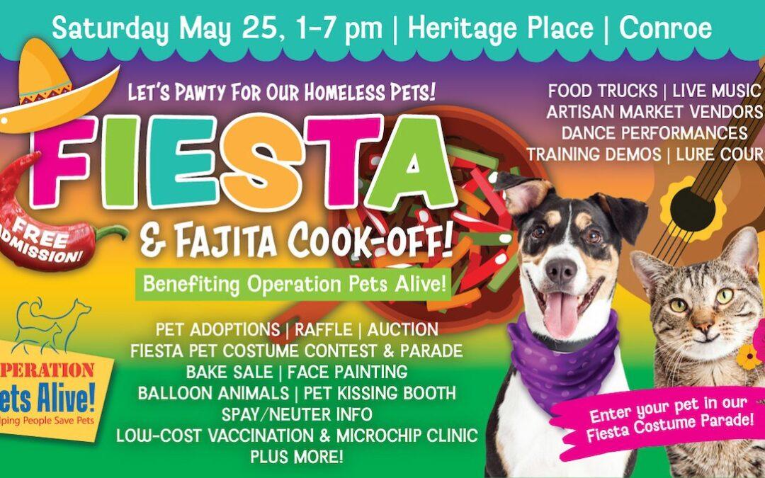 OPA Invites Community to Attend a Fiesta & Fajita Cook-Off!